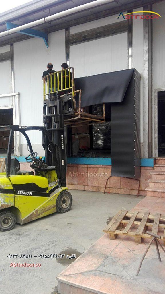 طراحی ساخت و نصب داک شلتر توسط آبتین در