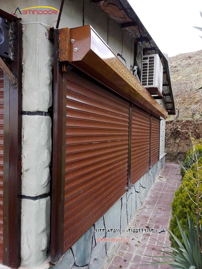 ساخت درب کرکره ای فلزی