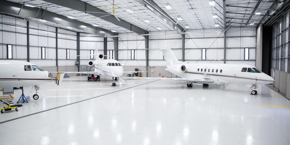 ساخت درب آشیانه هواپیما